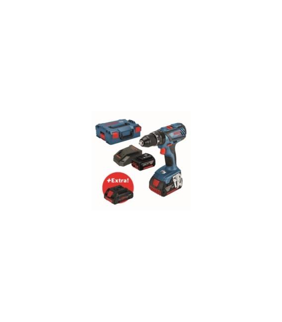Taladro atornillador percutor 3 baterías BOSCH GSB 18V-28