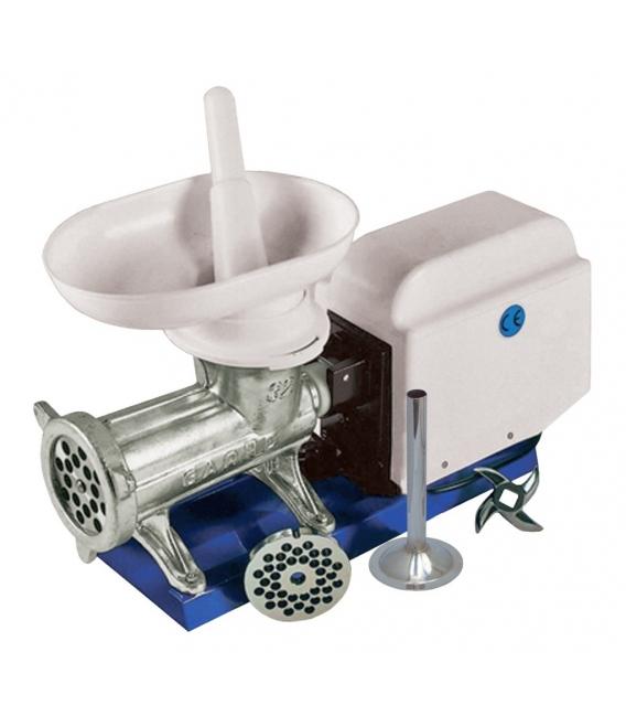 Máquina picar carne eléctrica GARHE N.32 cubierta
