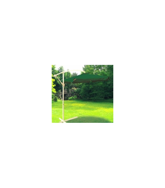 Parasol jardín 3mts aluminio NATUUR