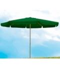 Parasol jardín 4metros verde NATUUR