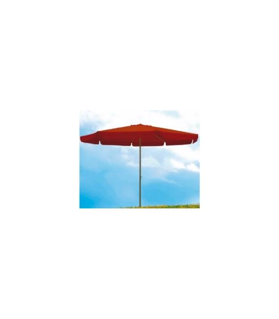 Parasol jardín 4metros terracota NATUUR