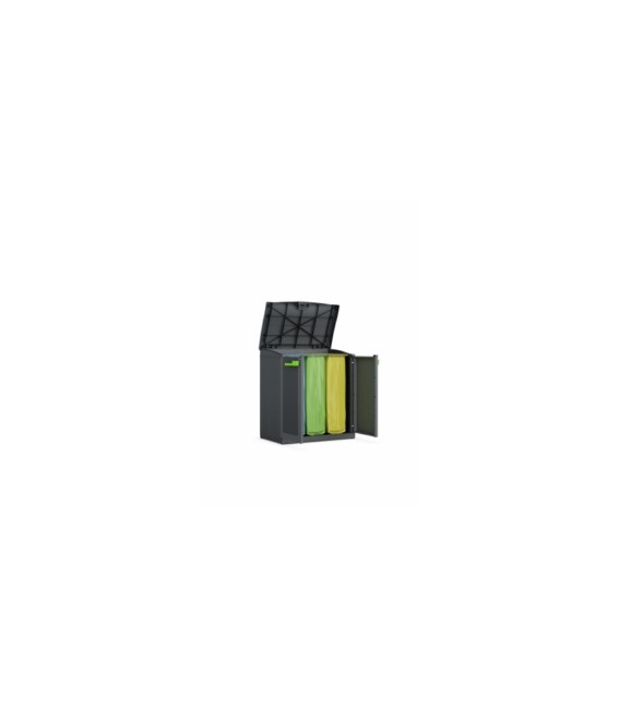 Contenedor exterior reciclaje 100x90x55cm CURVER
