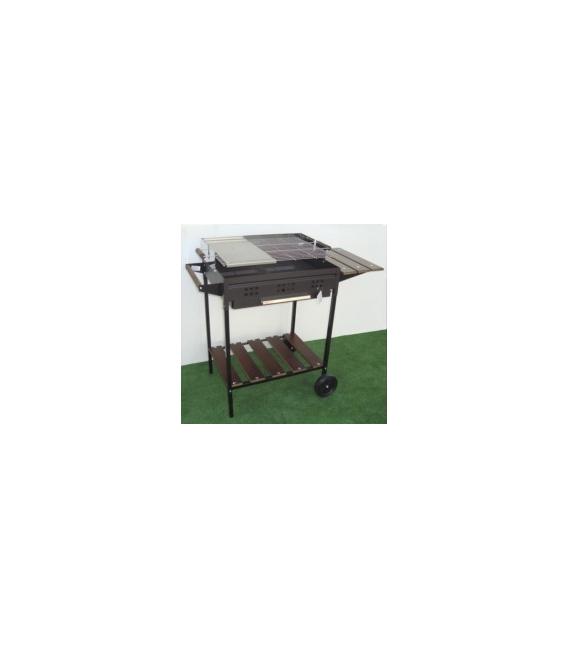 Barbacoa carbón leña 113X48,5X88,5cm. IMOR