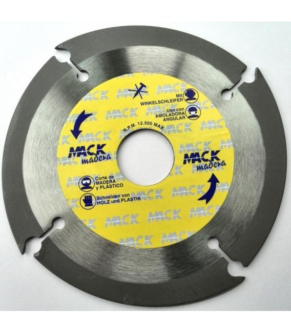Disco corte madera tronzador 115 MM MACODIAM