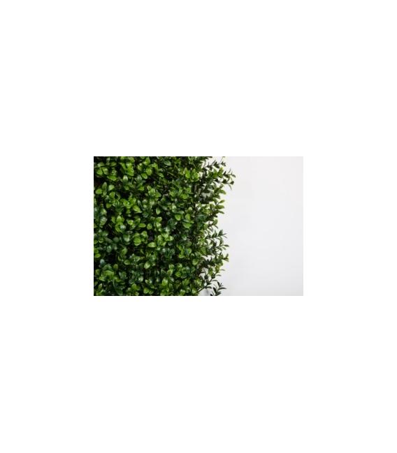 Loseta jardín seto artificial vertical 100x100cm. CATRAL
