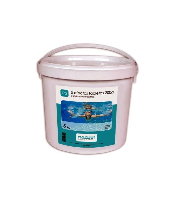 Tratamiento piscina en tabletas (200gr) 5kg NATUUR