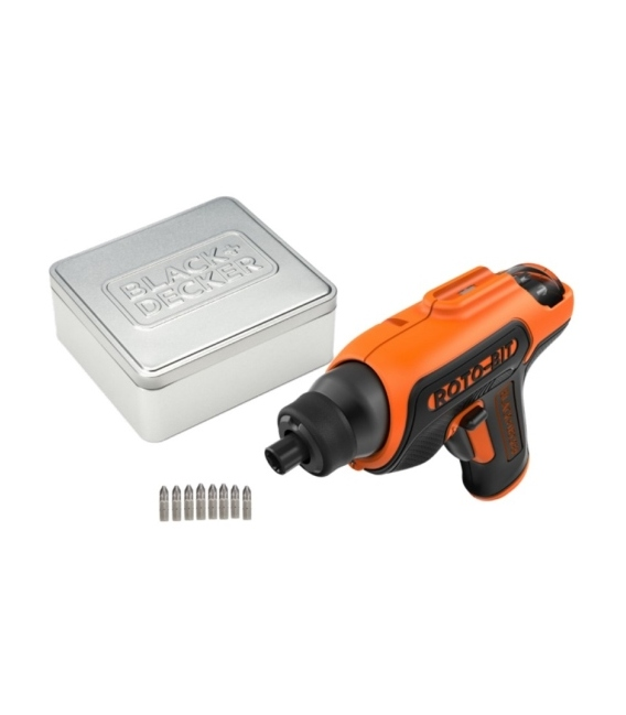 Atornillador bateria CS36BST-QW. BLACK + DECKER