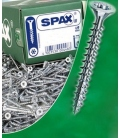 Tornillos galvanizados 500 piezas SPAX