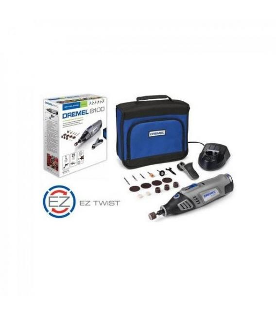 Heramienta multiple DR8100JC bateria 7,2v 15 accesorios DREMEL F0138100JC