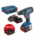 Taladro atornillador con percutor GSB 18V-28 2x5,0Ah +ProCORE 4,0Ah +L-BOXX BOSCH 0615990K7J