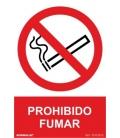 CARTEL 210X300MM PROHIBIDO FUMAR