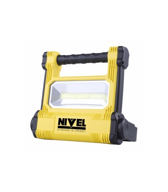 Proyector LED 20W + Linterna. NIVEL