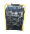 Calefactor eléctrico industrial. NIVEL