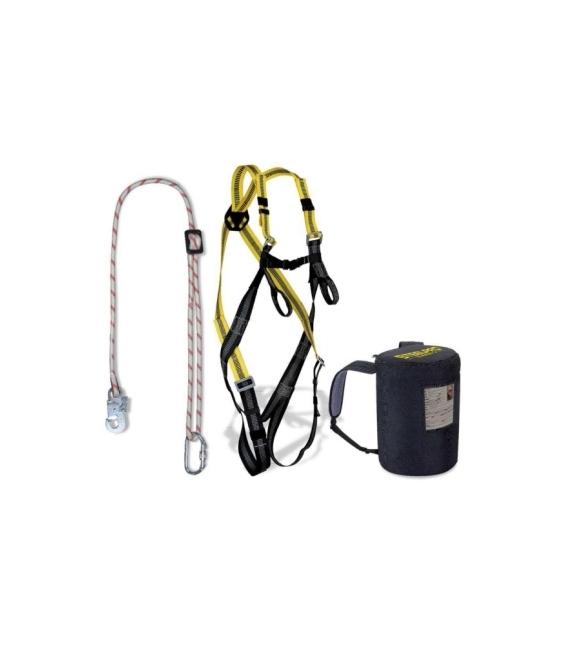 Arnes seguridad Dorsal/Frontal completo Cuerda regulable. STEELPRO