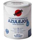 Esmalte al Agua Brillante Azulejos 750 ml Blanco. TITAN