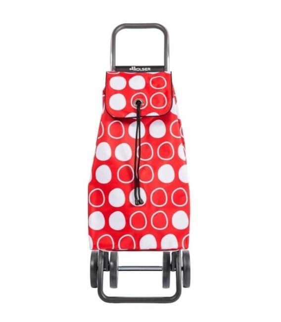Carro de compra Symbol Logic 2+2 Imax Rojo. ROLSER