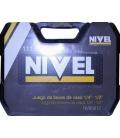 Juego llaves de vaso NIVEL 111 piezas