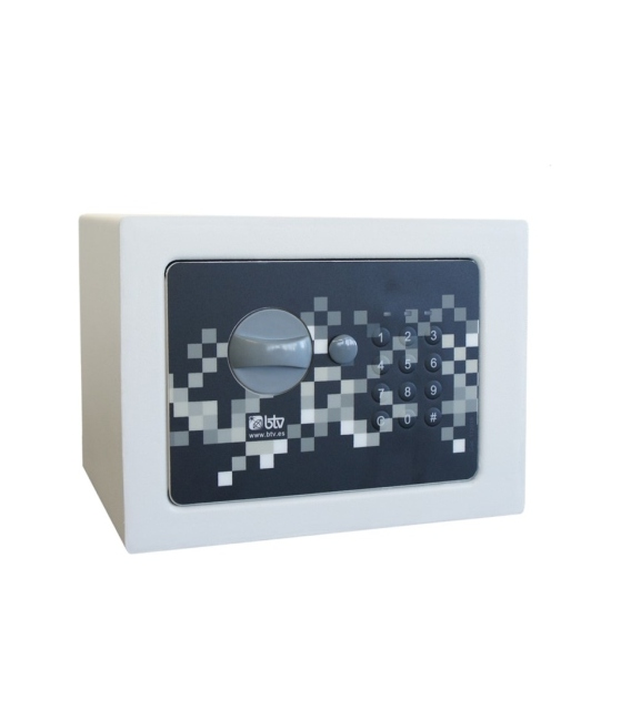 Caja fuerte  sobreponer 170x230x170mm  Blanco . BTV