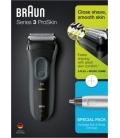 Afeitadora sin cable BRAUN 3000 Serie 3 +