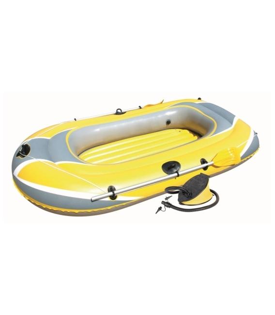 Barca hinchable con bomba y remos 228X121X36. BESTWAY
