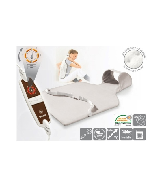Almohadilla eléctrica Cervical-Dorsal 100 W. BEURER