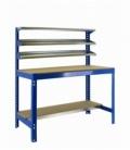 Banco de trabajo Kit Simonwork BT1 1200 Azul/Madera. SIMONRACK