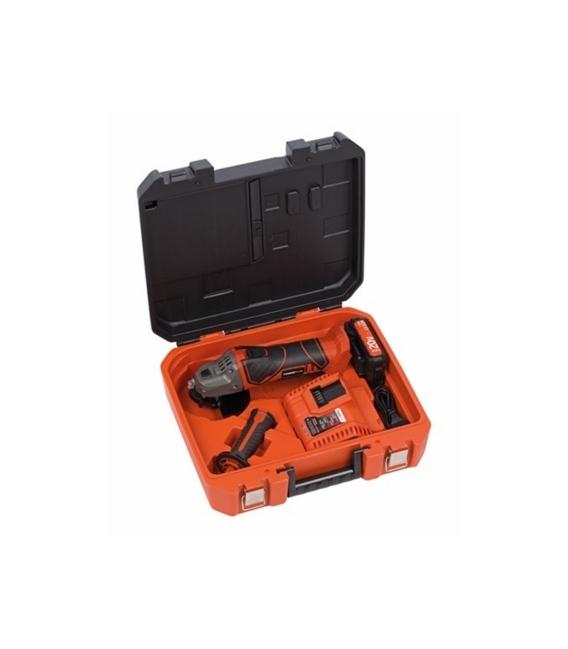 Amoladora bricolaje 115mm POWERPLUS Bat20+Cargador