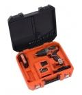 Taladro atornillador 20V 40V Batería 20V+Cargador. POWERPLUS