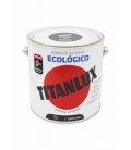 Esmalte agua ecológico satinado Tabaco 2.5 LT. TITANLUX