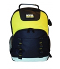 Portaherramientas mochila con divisores interiores 33x23x47cm. NIVEL