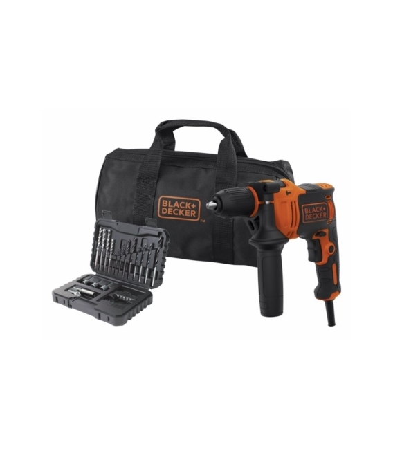 Taladro percutor 710w-13mm BLACK&DECKER