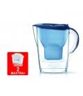 Jarra agua purificadora Marella blanca 2 Filtros. BRITA