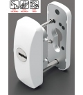 Escudo carpintería metálica SCUTUM blanco LINCE