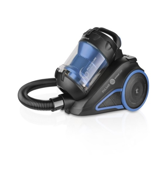 Pulsar Animal Care  Aspiradora  caja  sin bolsa  negro mate/azul metálico. TAURUS