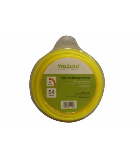 HILO JARD DESBROZADOR 3MM NATUUR 54 MT