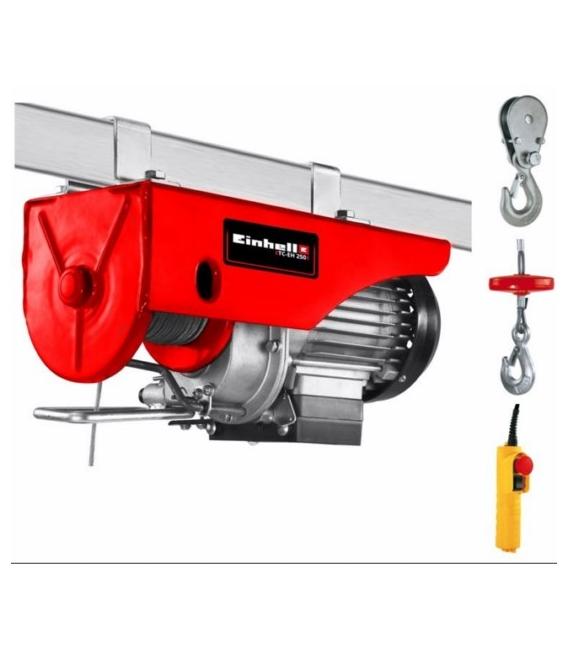 Elevador eléctrico polipasto 500W EINHELL TC-EH 250