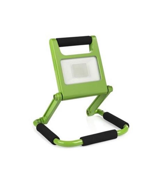 Proyector LED plano 10W verde SMARTWARES