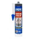 Adhesivo sellador 290ml negro CEYS Total Tech