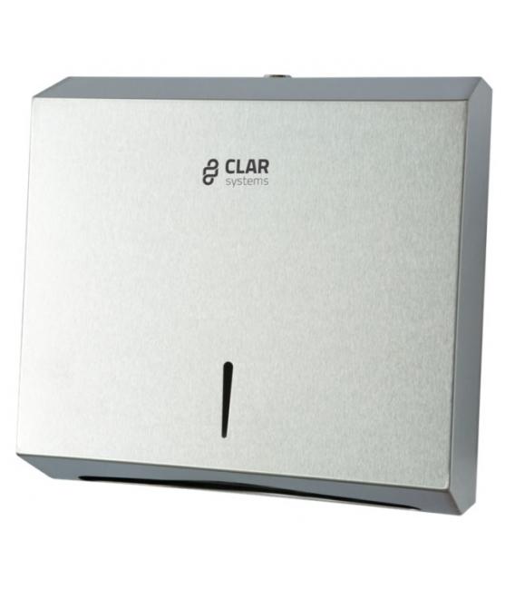 Dispensador toallas 600Piezas CLAR SYSTEMS