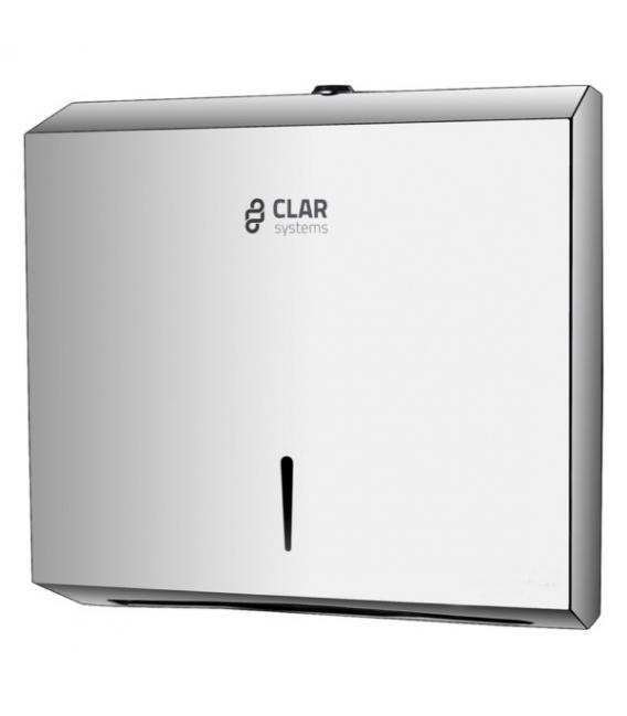 Dispensador toalla baño 600Piezas CLAR SYSTEMS