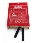 Manta soldadura 2x2mts STEELPRO SAFETY