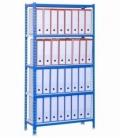 Estantería de carga ligera KIT SIMONCLICK PLUS 5/300 AZUL/BLANCO