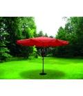 Parasol jardín 3,5mts terracota NATUUR