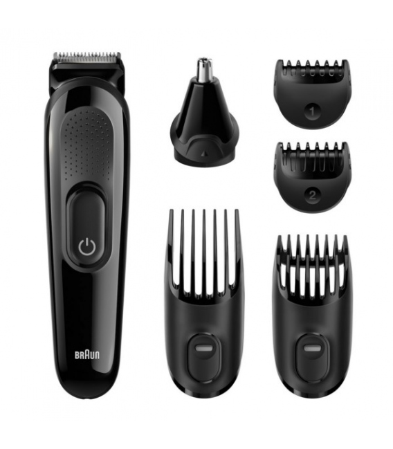 Cortapel,o recargable barbero Multi Gromming Kit. BRAUN