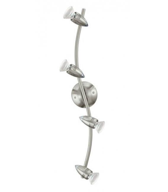 Lámpara de techo Eglo Níquel-mate.  MAGNUM-LED