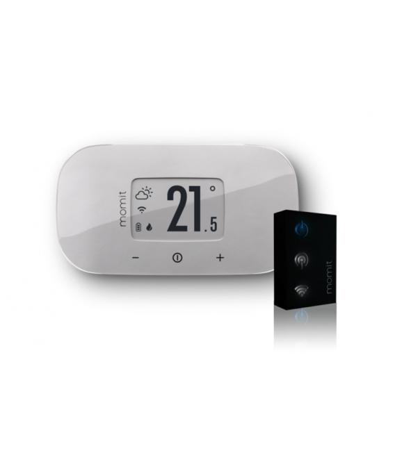 Termostato wifi pared inalámbrico MOMIT Bevel V2