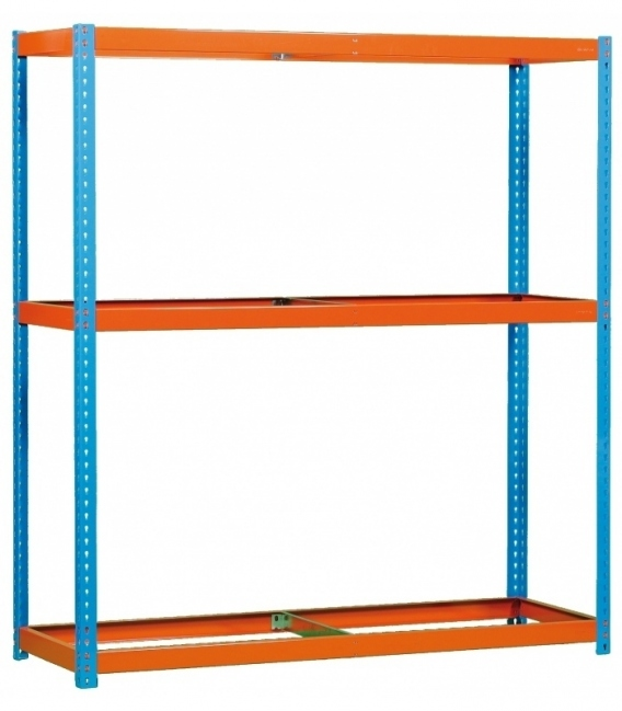 Estantería para picking KIT SIMONFORTE 1504-3 AZUL/NARANJA