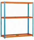 Estantería para picking KIT SIMONFORTE 1804-3 AZUL/NARANJA