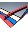 Metacrilato 500x600mm Espejo Plata QUALITY MATERIALS