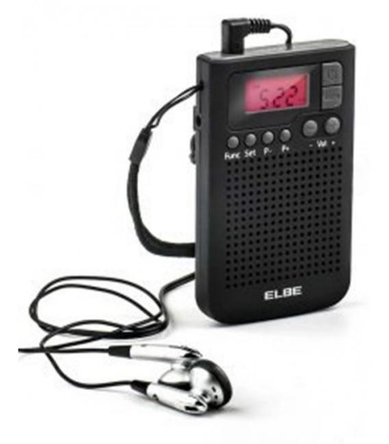 RADIO DIGIT. AM FM 9,8X6X1,8CM
